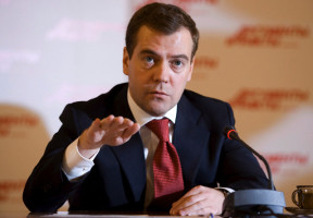 Russia - Politics - Russia's First Deputy Prime Minister and president-elect Dmitry Medvedev